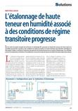 LNE-CETIAT article in Mesures 2018